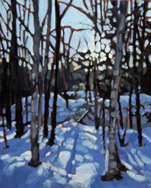 Parc du Mont Tremblant 4, <span class='en'>oil on canvas,</span> <span class='fr'>huile sur toile,</span> 20<span class='en'>in</span><span class='fr'>po</span> x 16<span class='en'>in</span><span class='fr'>po</span> (<span class='en'>SOLD</span><span class='fr'>VENDU</span>)